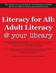 Literacy for All: Adult Literacy @ your Library