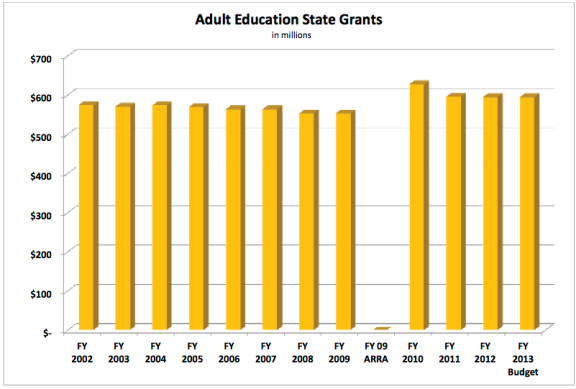 CEF Summary Adult Education 2013