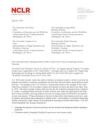 NCLR - letter on H.R. 803