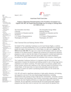Leadership Conference - letter on H.R. 803