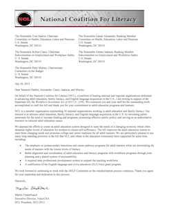 NCL Letter of Support - Senate WIA 2013