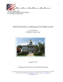 State Advocacy 2013