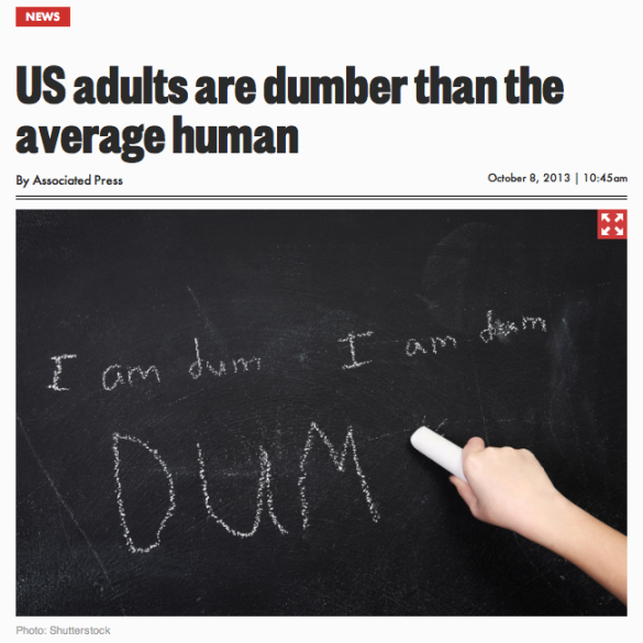 US_adults_are_dumber_than_the_average_human___New_York_Post