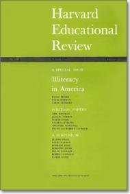 Harvard Educational Review, Summer 1970