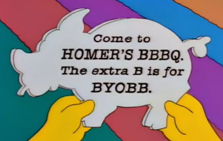 Homer Welcomes the Return of Pork Barrel Spending